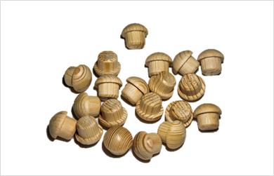 tapones de madera de haya
