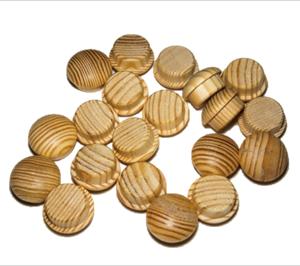 tapones de madera de pino