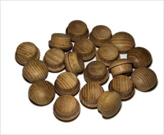 tapones de madera de roble