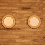 Marcos Redondos de madera