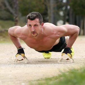 Barras paralelas para hacer ejercicio